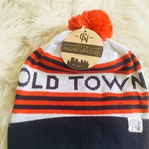 Other - Old Town City Pom Beanie Hat Fall:Winter